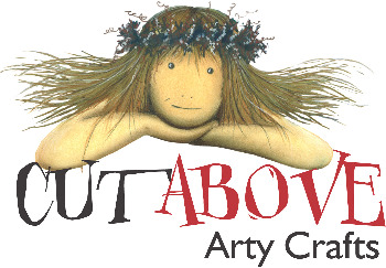 Cut Above Arty Crafts for card making : logo