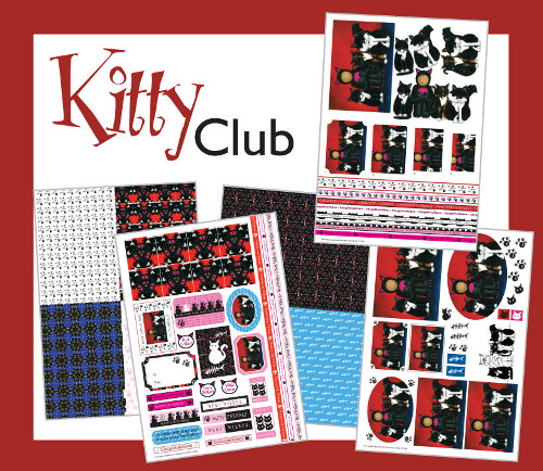 Kitty Club Card Making Kit : Click to Enlarge